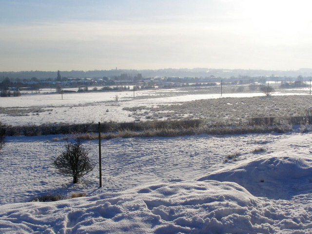 Fields to the South of Elton Reservoir