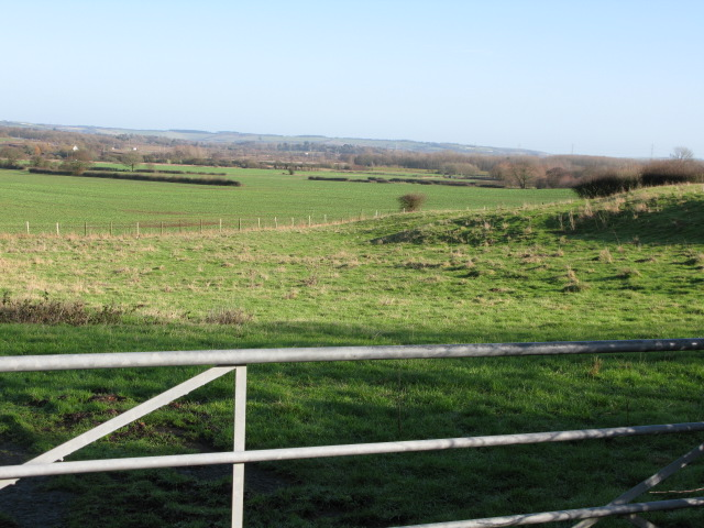 View to the NE of Bank Road