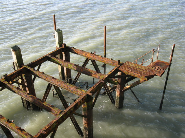 Rusty Eastbourne Pier