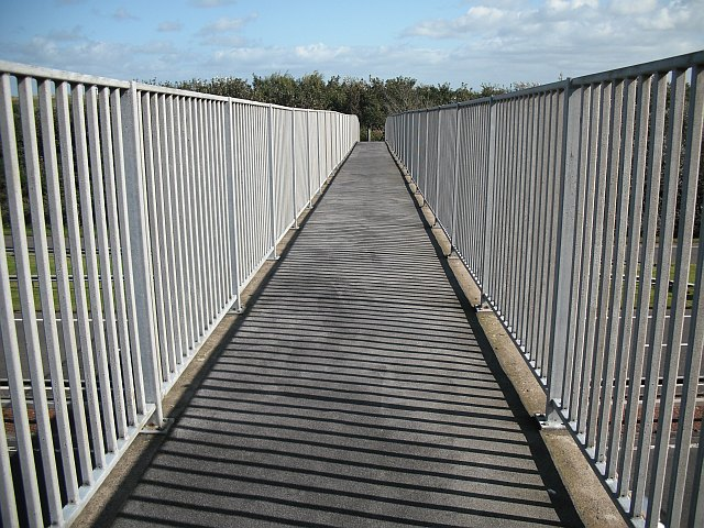 Footbridge, A78