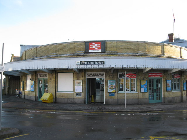 Entrance to Eastbourne Station