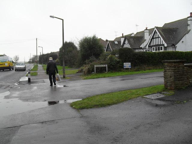 Junction of Broadmark Way and Broadmark Lane