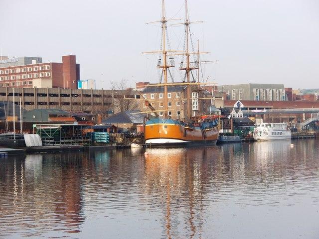 HMS Bark Endeavour
