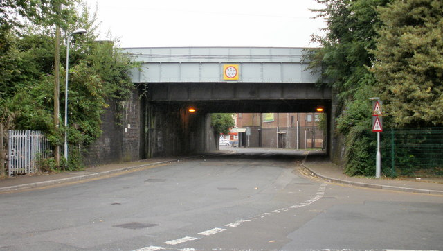 East Usk Road railway bridge, Newport