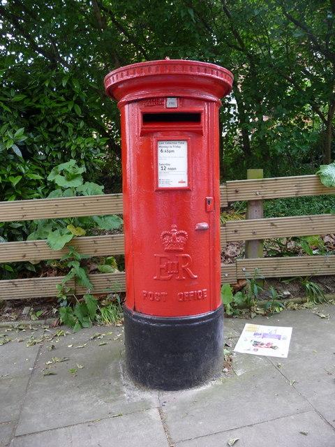 Elizabeth II Pillar Box, Hampstead High Street, London NW3