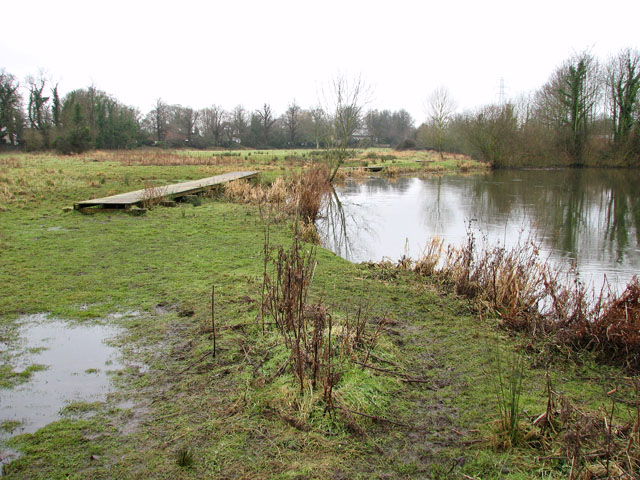 Soggy path along the River Yare