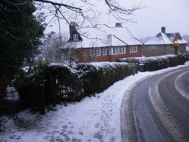 Footpath from Longdene Road in  Haslemere