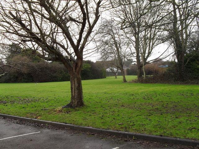 Lush grounds at Zachary Merton Hospital