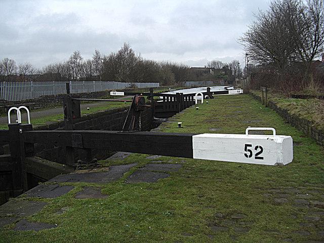Lock 52 Rochdale Canal Castleton