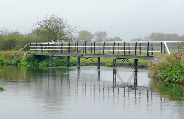 Trent and Mersey Canal near Wychnor, Staffordshire