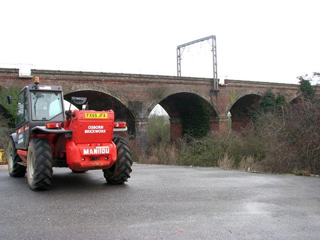 The Harford Rail Viaduct