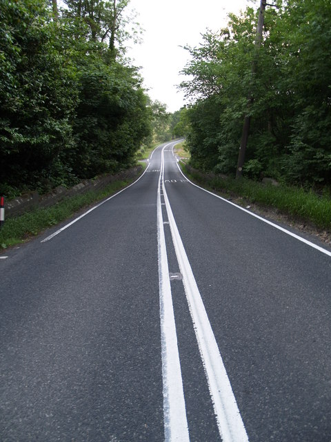 The A68 between Minsteracres north entrance and Scales Cross