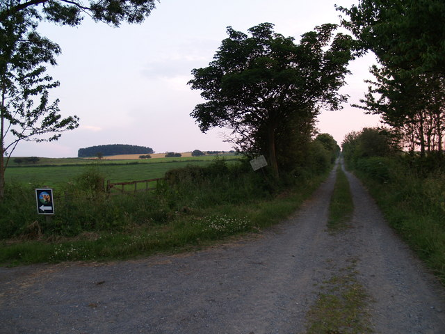 Track between B6309 and Fell House on the A68