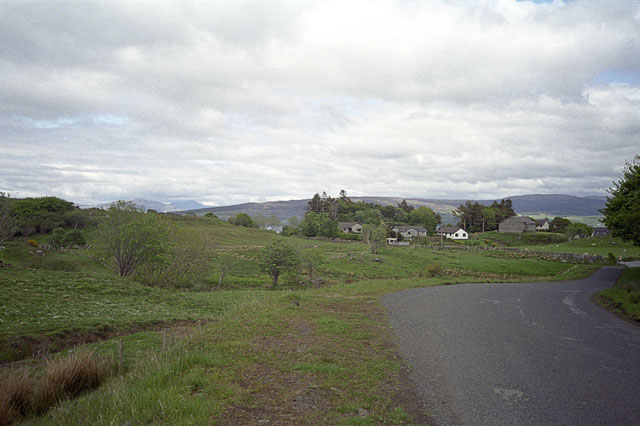 Baliscate, on the outskirts of Tobermory
