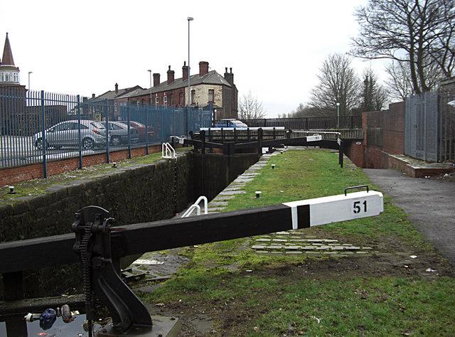 Lock no 51 Rochdale Canal Castleton