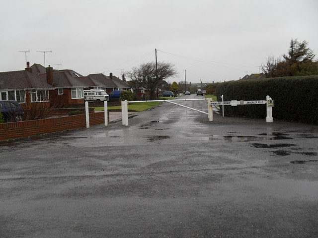 Looking from Sutton Avenue into Amberley Road