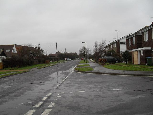 Junction of Mallon Deane and Broadmark Lane