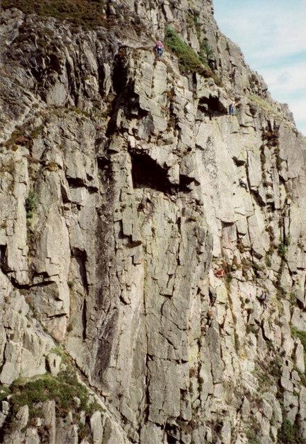 Slip Knot - White Ghyll crag
