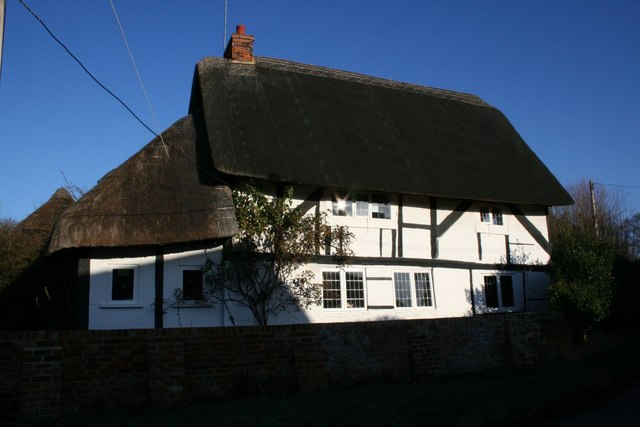 Thatched cottage on Church Lane