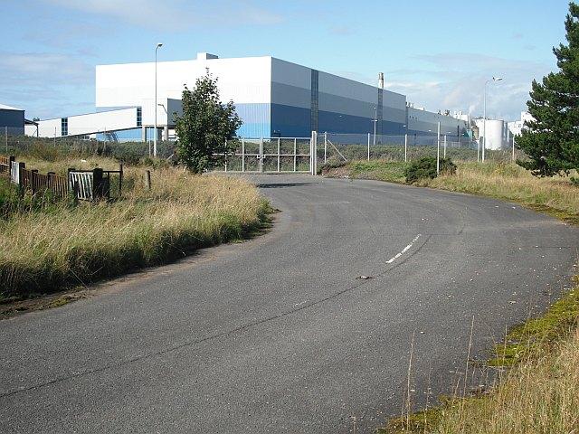 UPM Caledonian Paper Mill