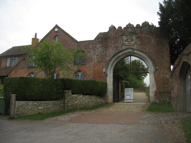 Entrance to Basing House