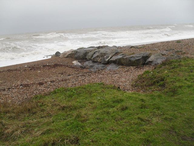 Rocks on Broadmark Beach