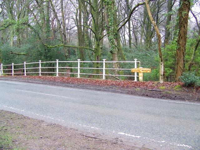 Boundary post, Brook