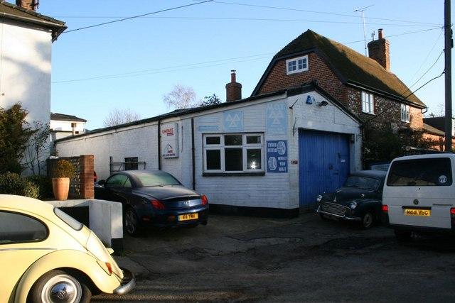 Garage along Brightwell Street