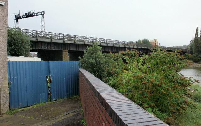 River Usk railway bridge
