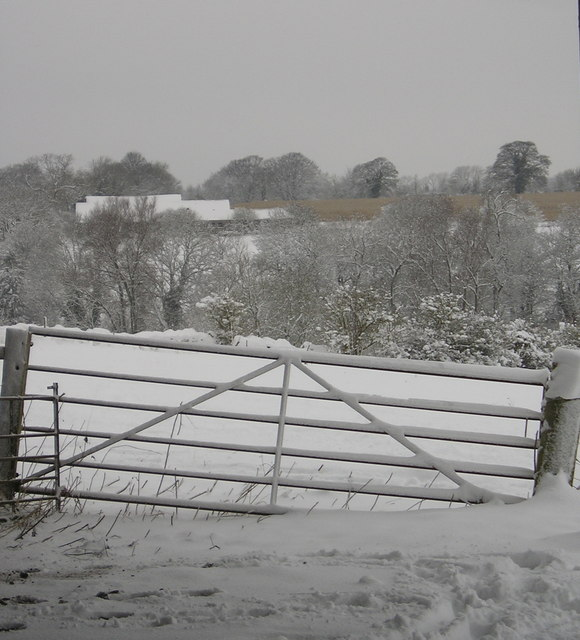Snow in the Dornford valley