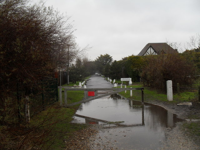 Looking from Broadmark Beach into Sea Avenue