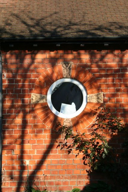 Round window in the house