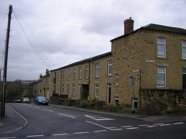 Terraced Houses on Lady Anne Road, Batley