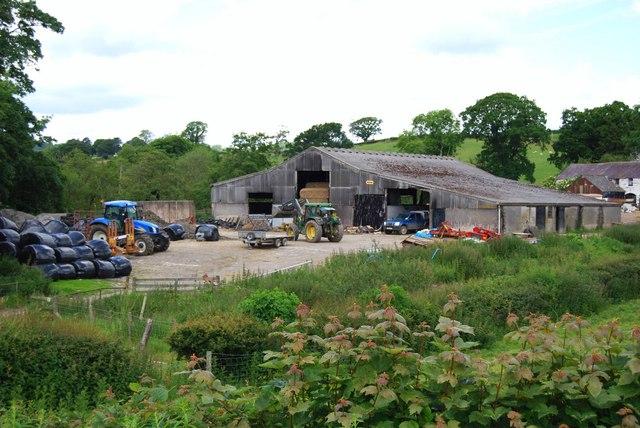 Trewyn Fawr farm steading