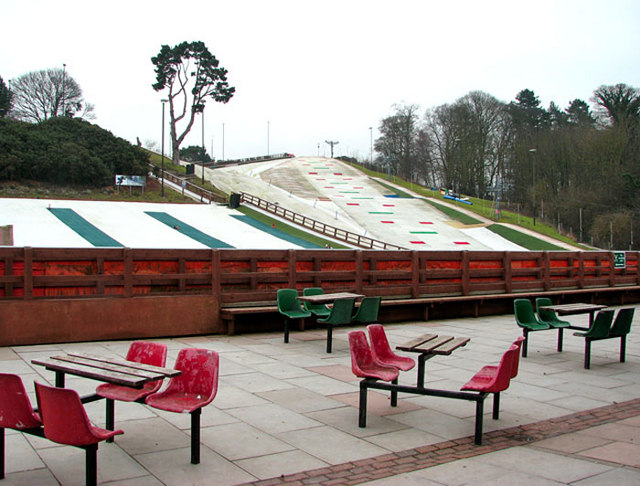 View from the terrace of the Norfolk Ski Club
