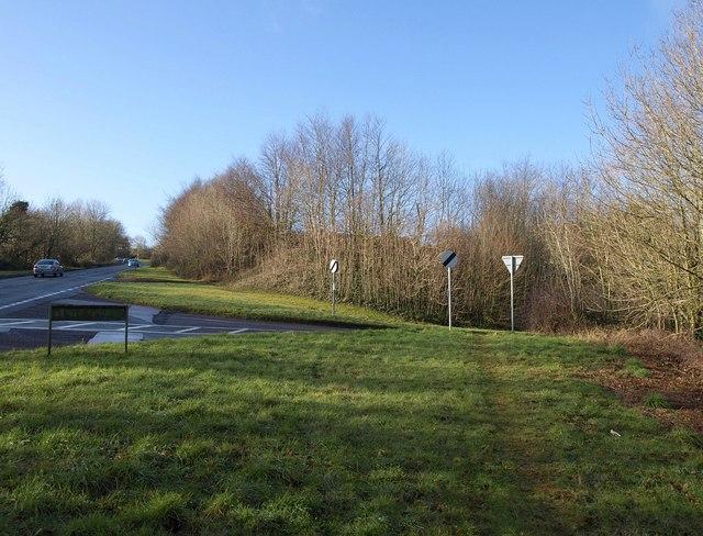 Start of Moles Lane