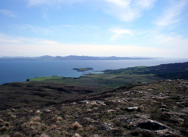 The View from An Cruachan: Isle of Eigg