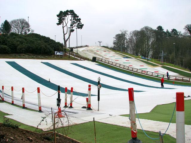 Slopes at Norfolk Ski Club