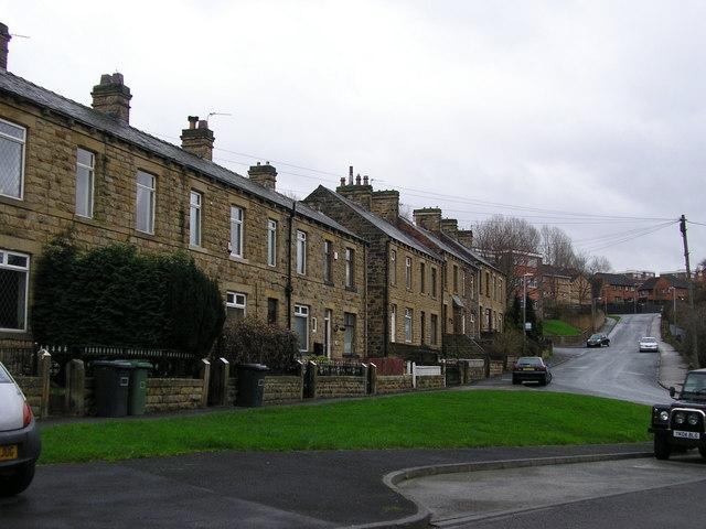 Terraced Houses, Lady Ann Road & Broomsdale Road,  Batley