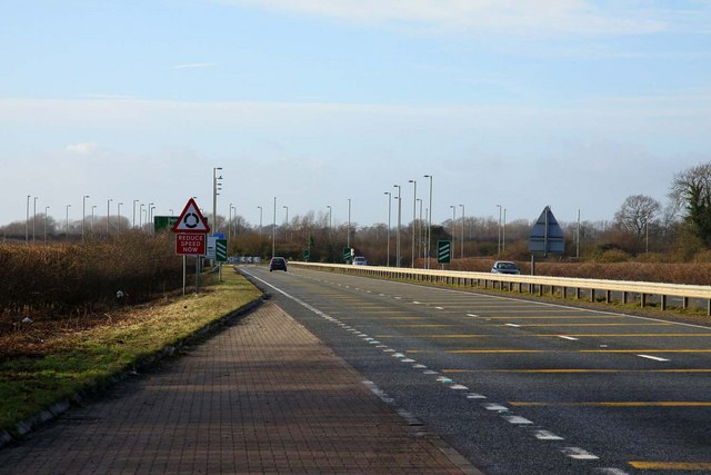 The A420 to Faringdon
