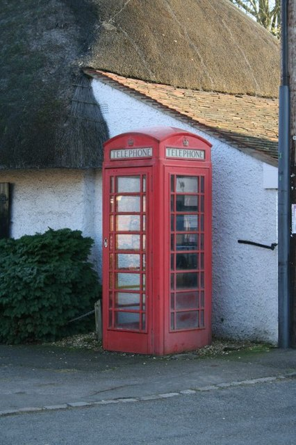 Phone box on the corner
