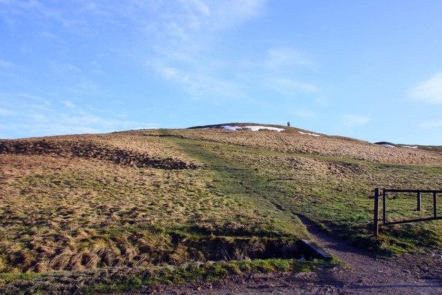 Pathway to Uffington Castle