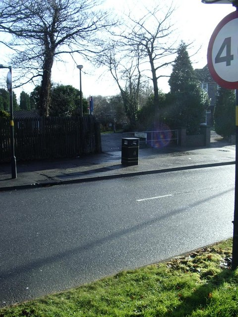 Pedestrian access to Haunchwood Drive