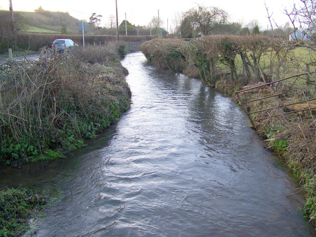 The River Axe, Yarley