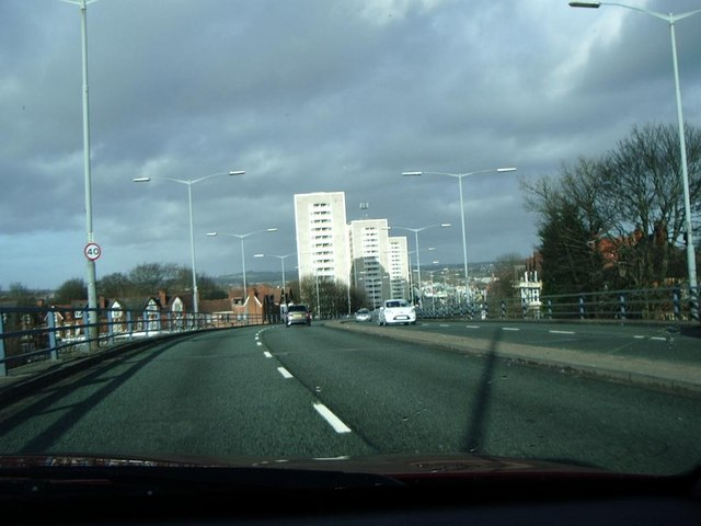 Flyover, Birchfield Road, A34