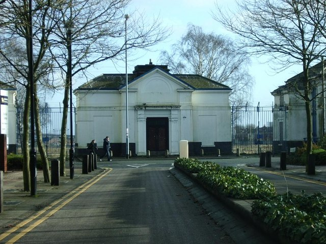 Former IMI entrance, Perry Barr