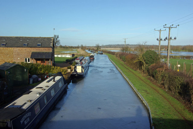 Oxford Canal, from Twyford Bridge