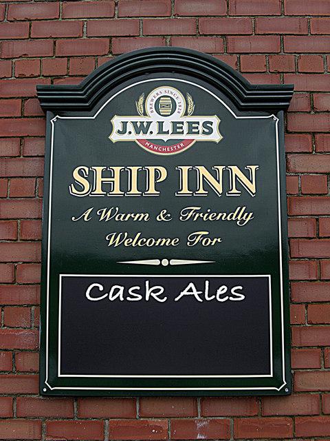 Ship Inn canal-side pub