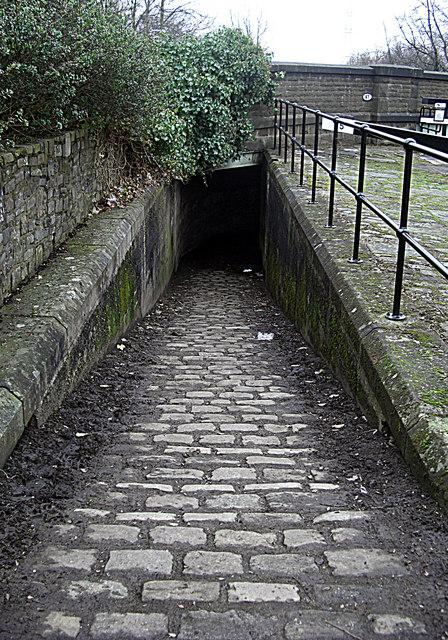 Rochdale Canal towpath Slattocks