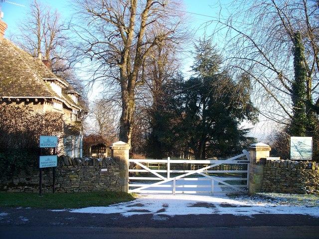 Entrance to Sezincote House